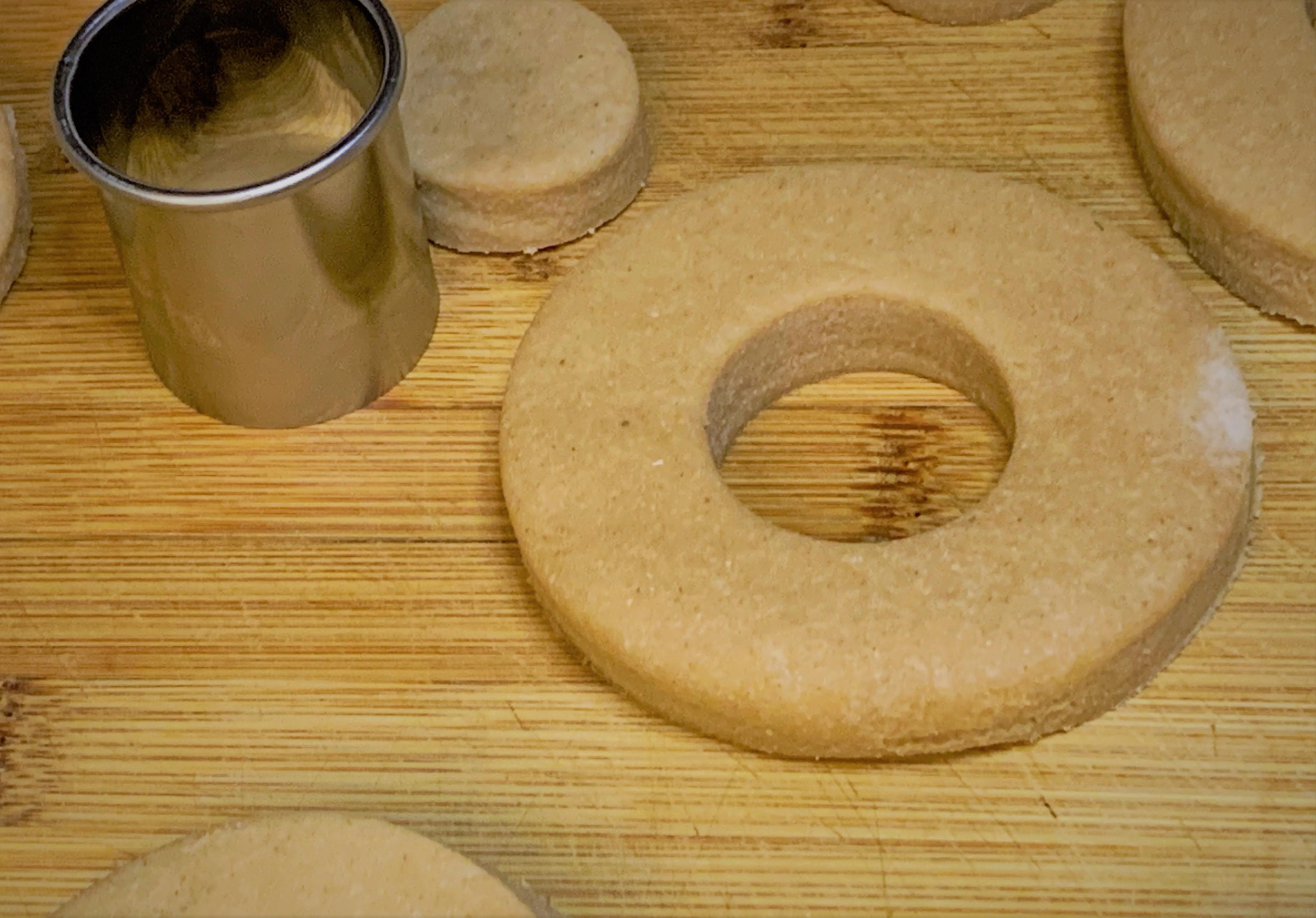 Our cut doughnuts
