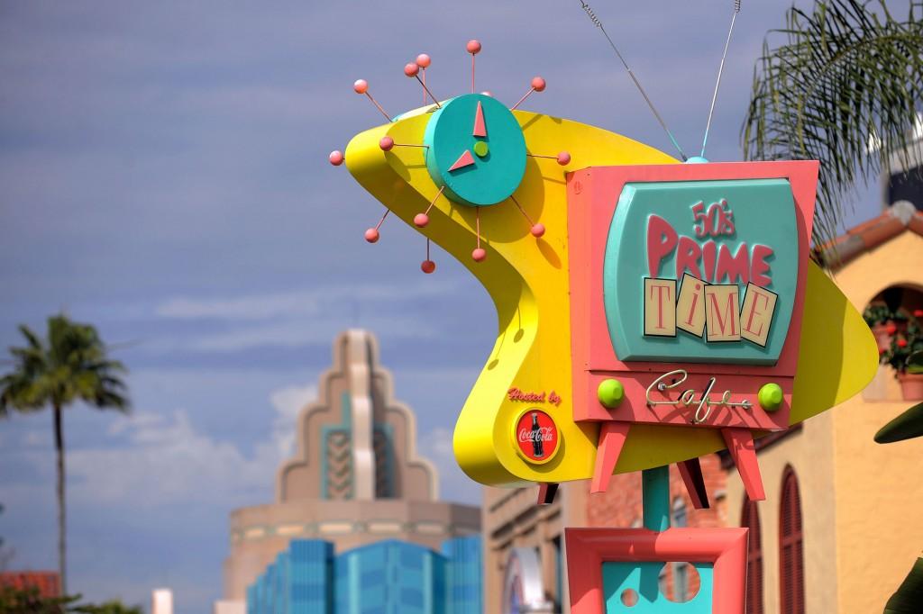 50's Prime Time Cafe Sign - Disney's Hollywood Studios