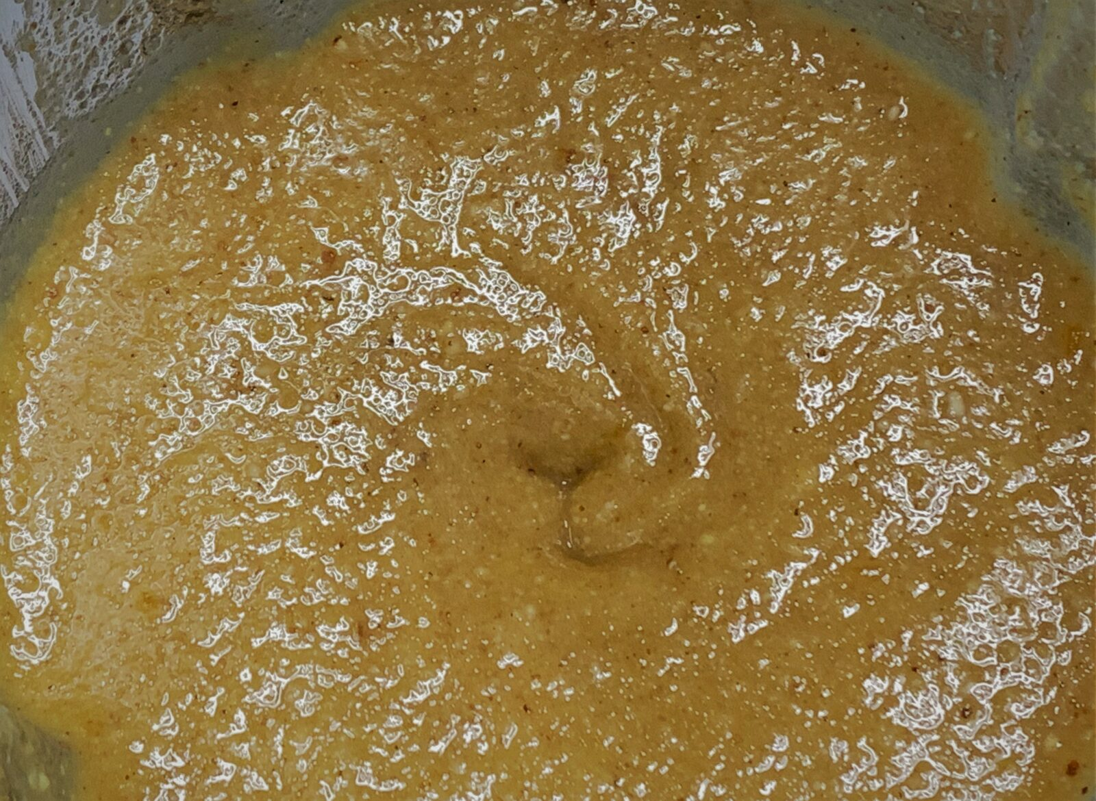 Pureeing our Praline Paste