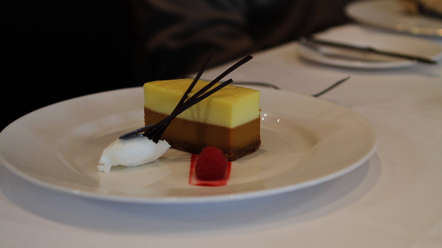 Pumpkin Cheesecake - Disney Cruise Line