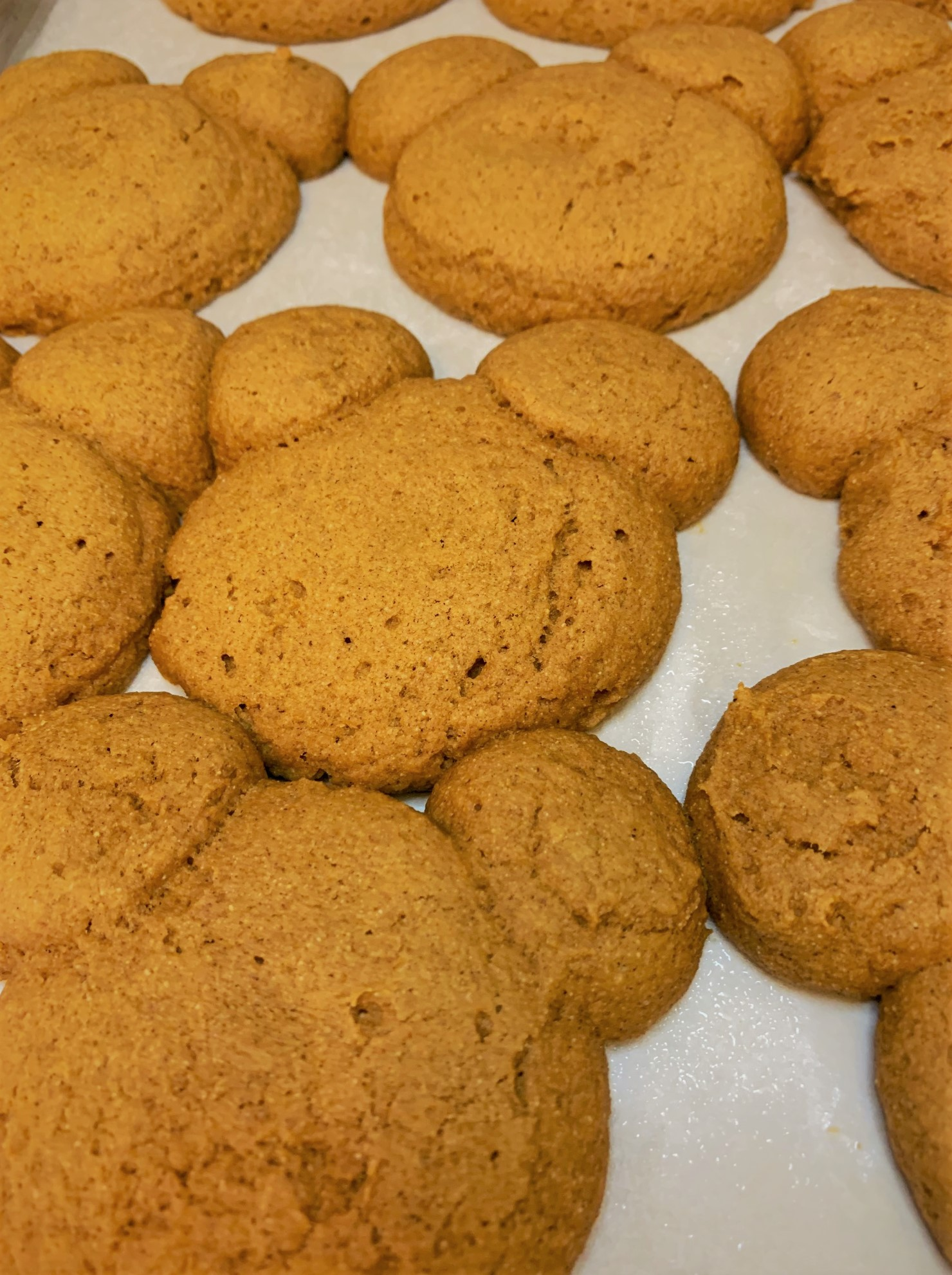 Our baked Pumpkin Mickey Whoopie Pies