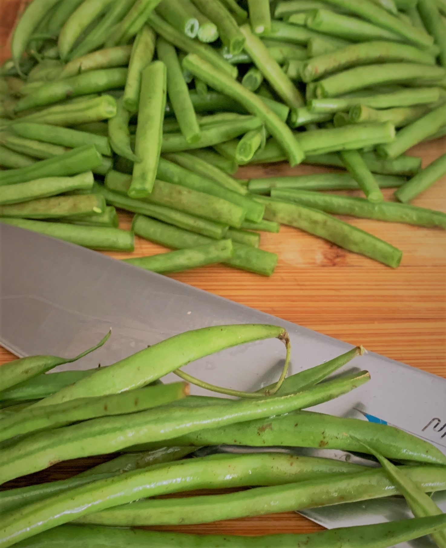 Our cut green beans