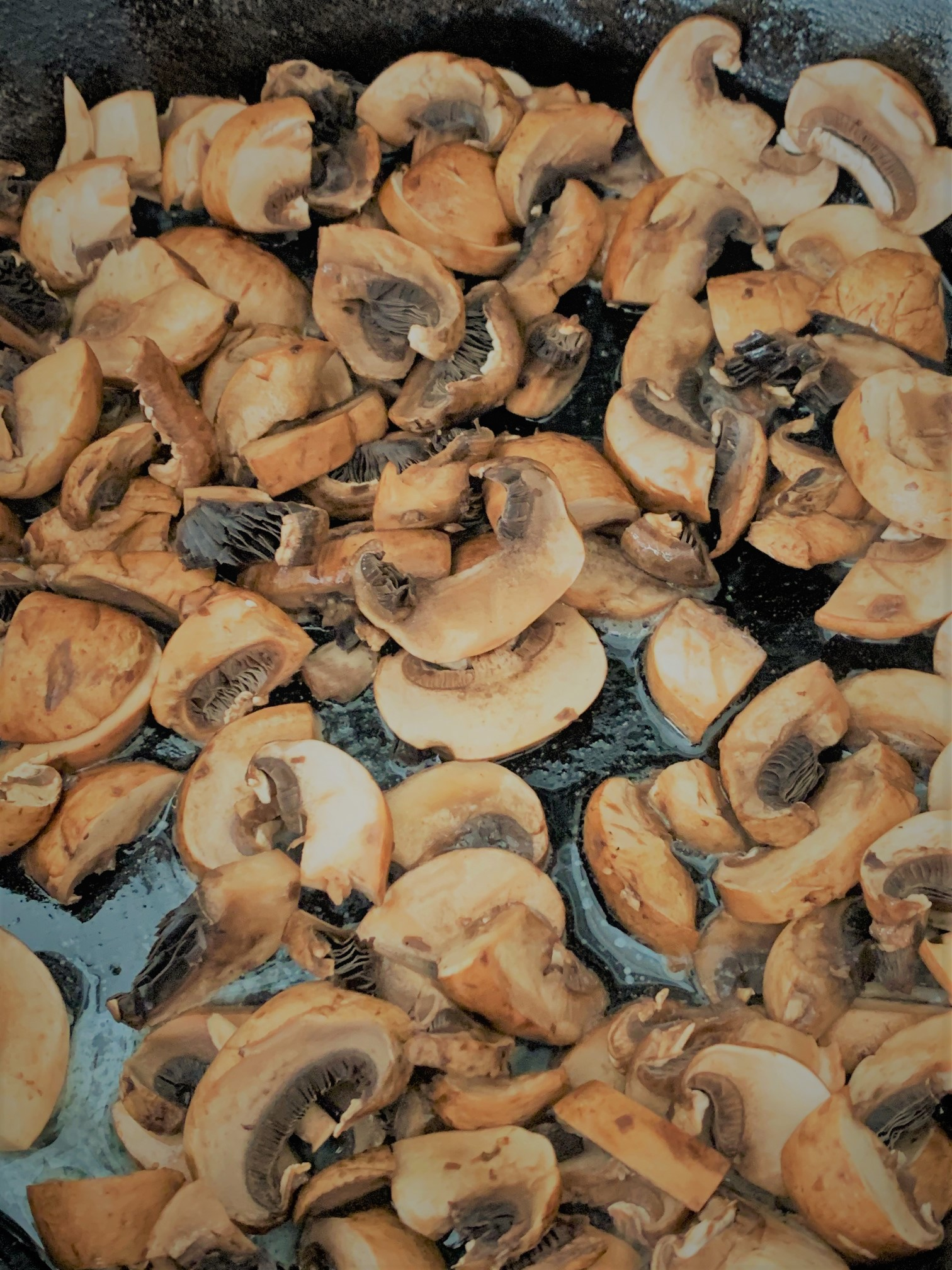 Cooking the Mushrooms